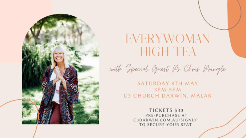 Everywoman High Tea Invite For Church Website Event Feed